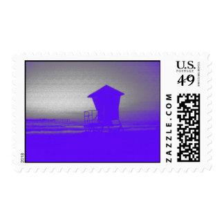 Tower #1 sun haze postage stamp