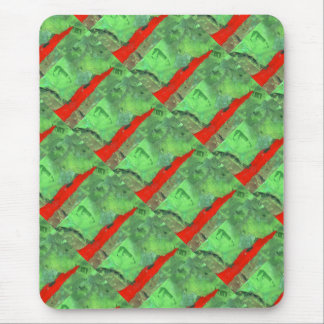 """""""Tower #1"""" Tiled Image Abstract Design Mousepad"""