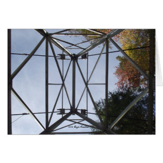 Tower at Appalachia Powerhouse Stationery Note Card