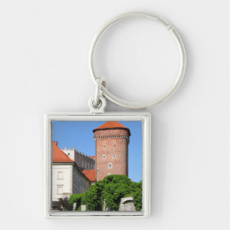 Tower at Wawel Castle Keychain