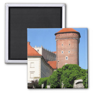 Tower at Wawel Castle Magnet