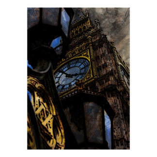 Tower Big Ben London Poster