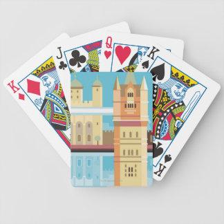 Tower Bridge 2 Bicycle Playing Cards