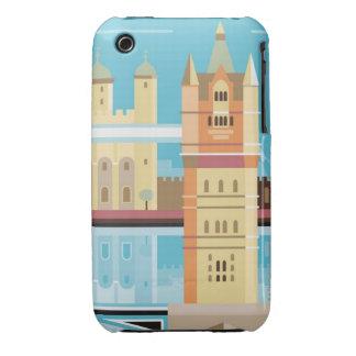 Tower Bridge 2 iPhone 3 Covers