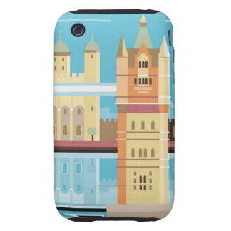 Tower Bridge 2 Tough iPhone 3 Covers