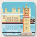 Tower Bridge 2 Drink Coaster