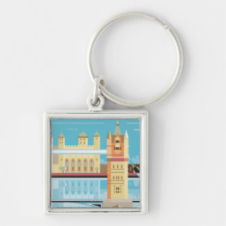 Tower Bridge 2 Keychain