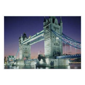 Tower Bridge 2 Poster