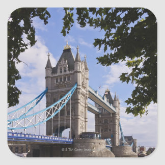 Tower Bridge 5 Square Sticker