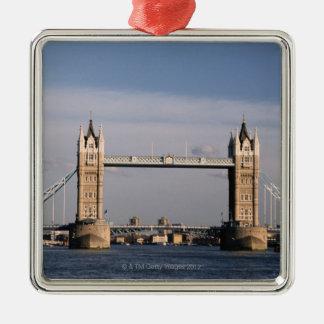 Tower Bridge 6 Metal Ornament