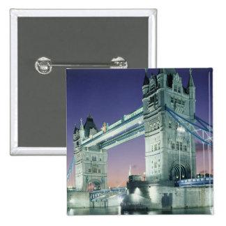 Tower Bridge 7 Pinback Button