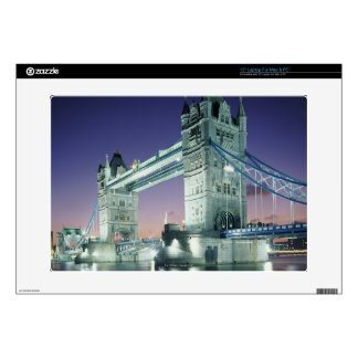 "Tower Bridge 7 Skin For 15"" Laptop"