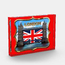 Tower Bridge Acrylic Award