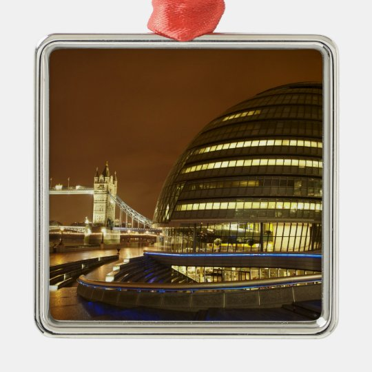 Tower Bridge, and Greater London Authority Metal Ornament