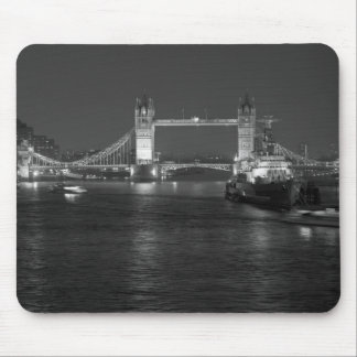 Tower Bridge and HMS Belfast Mouse Pad