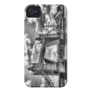 Tower Bridge and passing ship iPhone 4 Cover