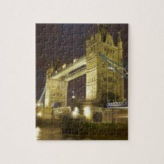 Tower Bridge and River Thames at dusk, London, Puzzles