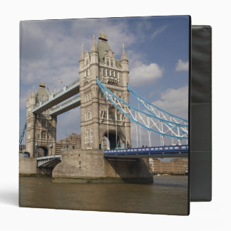 Tower Bridge and River Thames, London, 3 Ring Binders