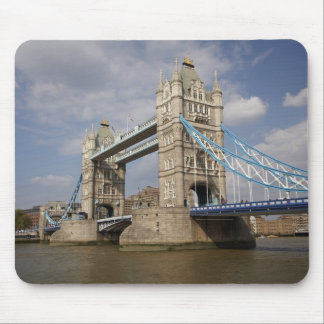 Tower Bridge and River Thames, London, Mouse Pad