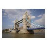 Tower Bridge and River Thames, London, Photo Print