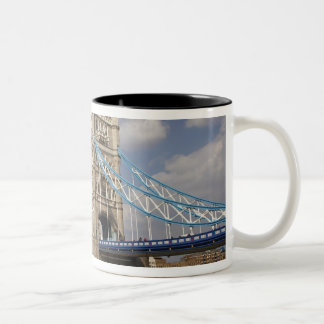 Tower Bridge and River Thames, London, Two-Tone Coffee Mug