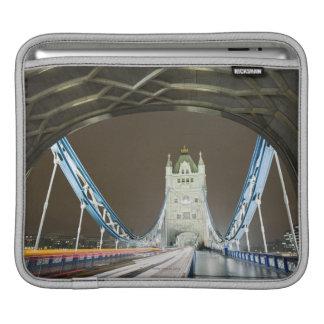 Tower Bridge and Thames River at Dusk iPad Sleeve