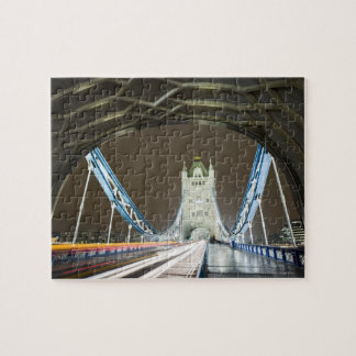 Tower Bridge and Thames River at Dusk Jigsaw Puzzle