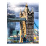 Tower Bridge and the City Postcard