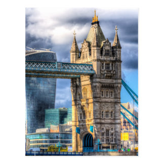 Tower Bridge and the City Postcard