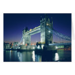 Tower Bridge at Dusk Greeting Card