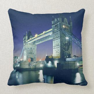 Tower Bridge at Dusk Pillow