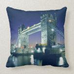 Tower Bridge at Dusk Pillows