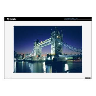 """Tower Bridge at Dusk Skins For 15"""" Laptops"""