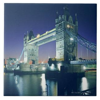 Tower Bridge at Dusk Ceramic Tiles