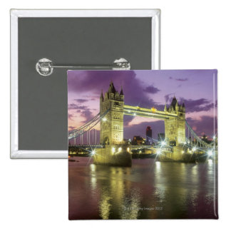 Tower Bridge at Night Button