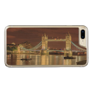Tower Bridge at night, London Carved iPhone 7 Plus Case