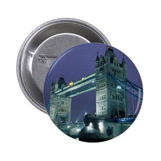 Tower Bridge at night London England Pins