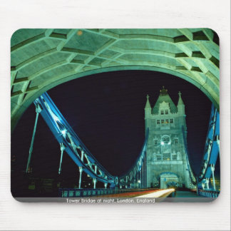 Tower Bridge at night, London, England Mouse Pad