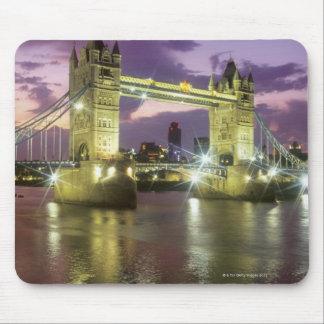 Tower Bridge at Night Mousepads