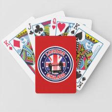 Tower Bridge Bicycle Playing Cards