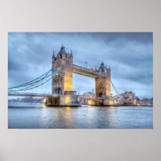 Tower Bridge (borderless) Poster