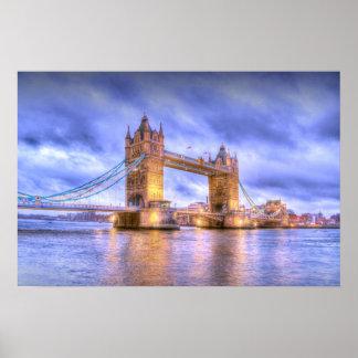 Tower Bridge borderless Poster