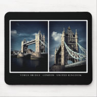 Tower Bridge Diptych mousepad