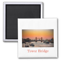 Tower Bridge Fridge Magnet