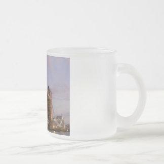 Tower Bridge Frosted Coffee Mug