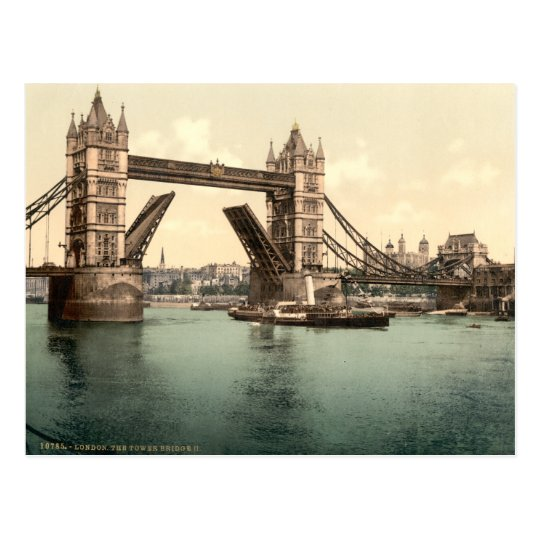Tower Bridge I, London, England Postcard
