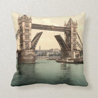Tower Bridge I, London, England Throw Pillow
