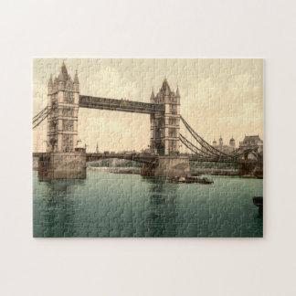 Tower Bridge II, London, England Jigsaw Puzzle