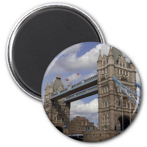 Tower Bridge In London England Magnet