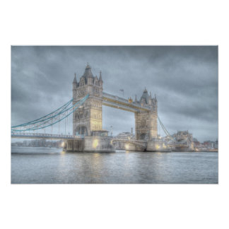 Tower Bridge in London Poster